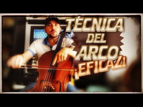🎻 TECNICA de ARCO al cello para principiantes
