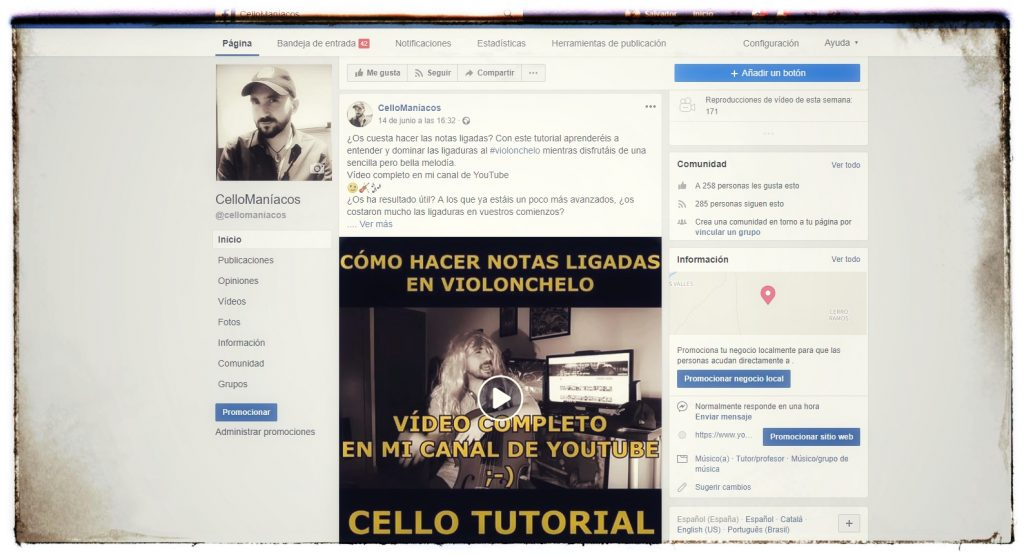 Conecta Cellomaniacos Facebook