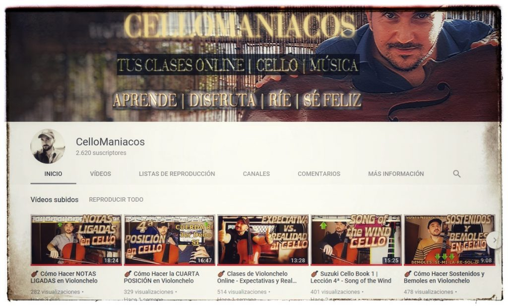 Conecta Cellomaniacos Youtube